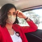 Caterina Balivo e la mascherina super fashion: ma quanto costa?