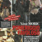Nina Moric, Luigi Favoloso e Carlos a Milano (Chi)