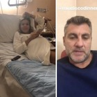 Costanza Caracciolo in clinica, Bobo Vieri resta con lei durante il parto Video