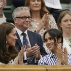 Meghan e Kate, a Wimbledon prima uscita senza mariti: ed è subito «sfida casual»