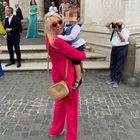 Mara Venier, ecco l'abito che ha scelto per il matrimonio del figlio