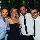 Gwyneth Paltrow a Capri nel ristorante dei super vip
