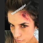 Elisabetta Canalis spaventa i fan su Instagram, ma non è come sembra