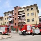 Incendio nell'edificio, paura a Capodimonte