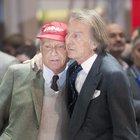Montezemolo: «Caro Niki tu un grande in pista e fuori»