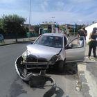 Rocambolesco incidente stradale: donna finisce in ospedale