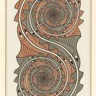 Maurits Cornelis EscherVortici 1957 Incisione, 43,8x23,5 cm Collezione Giudiceandrea Federico All M.C. Escher works © 2016 The M.C. Escher Company The Netherlands. All rights reserved