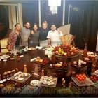 Maradona festeggia il compleanno con i figli