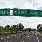 Lavori a un cavalcavia, chiusura per l'uscita Caianello dell'A1