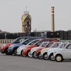 Fiat 500, una parata come nel '57: dal Centro Storico al tetto del Lingotto