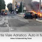 Mattina di Capodanno. Incidente in Viale Adriatico.