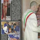 Il matrimonio di Fernanda Lessa con Luca Zocchi (Diva e donna)