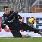 Lazio, gioia anche per Strakosha: rigore parato a De Paul