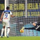 L'Atalanta spaventa l'Inter: 1-1 con rigore nel finale parato da Handanovic