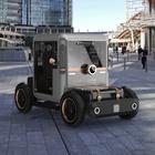 Mole Urbana, l'eco-quadriciclo modulare a emissioni zero del designer Umberto Palermo