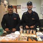 Cocaina ed eroina in un casolare, arrestati tre pusher a Benevento