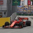 La Ferrari punta al tris a Singapore. Vettel: «Amo questo circuito, pronostico impossibile»