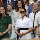 Meghan e Kate insieme a Wimbledon. E c'è anche Pippa
