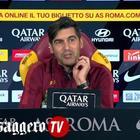 """Fonseca: """"Il derby lo vince chi gioca meglio. Lazio più forte, lo dice la classifica"""""""