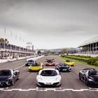 McLaren, un decennio di innovazione e successi protagonisti a Goodwood. Parata di supercar dalla 12C alla Elva