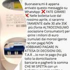 """""""Bollette, aumenti di 30-35 euro per colpa dei morosi"""", il messaggio su Whatsapp è una bufala: ecco cosa sta accadendo"""