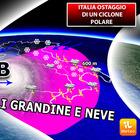 Meteo, ciclone polare sull'Italia: torna la neve, primavera in standby