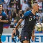 Hamsik in gol con la Slovacchia, ma perde il derby con Schick