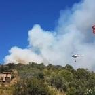Incendio all'Argentario, 5 famiglie evacuate