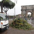 Allerta meteo a Roma: dal pomeriggio temporali e venti forti