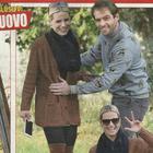 """Michelle Hunziker e Tomaso Trussardi, mani sospette sul pancino: """"Vogliono il terzo figlio"""""""