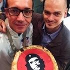 """Ramiro Guevara, fratello del """"Che"""", star in pizzeria da Sorbillo a Napoli"""