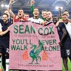 La famiglia di Sean Cox ringrazia: «Da Liverpool e Roma travolgente solidarietà»