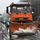 Allerta temporali in tutto il Lazio: e a Roma scatta il piano neve