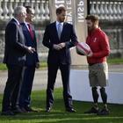 Harry partecipa alla presentazione della Rugby League World Cup 2021 Foto