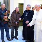 Papa Bergoglio regala tremila gelati ai clochard