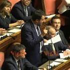 Salvini, l'intervento al Senato il giorno della fiducia a Conte in 3 minuti