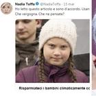 Post di Nadia Toffa, ira web