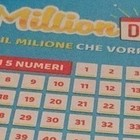 Million Day, numeri vincenti di mercoledì 11 settembre 2019