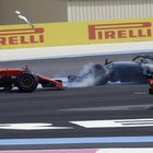GP Francia, Vettel: «Errore mio, penalità giusta. Dispiace per Bottas, ho distrutto la sua gara»