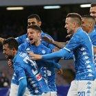 Il Napoli si sveglia: 4-2 all'Udinese Younes e Mertens tornano al gol
