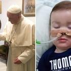 Il papà di Alfie da Papa: «Lo vuole in Vaticano»