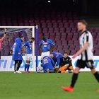 Ospina si accascia in Napoli-Udinese, trasportato subito in ospedale. «È cosciente»