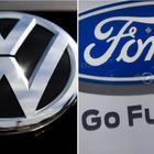 Ford e Volkswagen, accordo per un'alleanza strategica nei veicoli commerciali