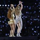 Shakira e Jennifer Lopez al Super Bowl