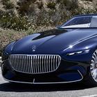 Mercedes-Maybach 6 Cabriolet, Art Decò con la capote al debutto a Pebble Beach
