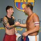 La Roma risponde con un tweet all'acquisto di Ronaldo: è Messi il migliore di tutti i tempi
