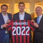 Milan, Romagnoli rinnova fino al 2022. Fassone al veleno: «Voci di mercato? Ridevamo»