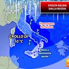 Meteo, il caldo ha i giorni contati: svolta gelida dalla Russia