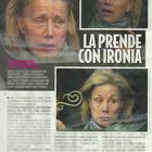 Nancy Brilli senza trucco a Roma (Novella2000)