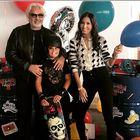 Briatore-Gregoraci, di nuovo insieme per il compleanno del figlio Nathan Falco